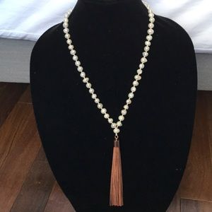 White House black market long necklace